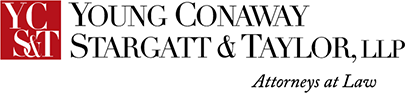 Young Conway Stargatt & Taylor attorneys at law logo