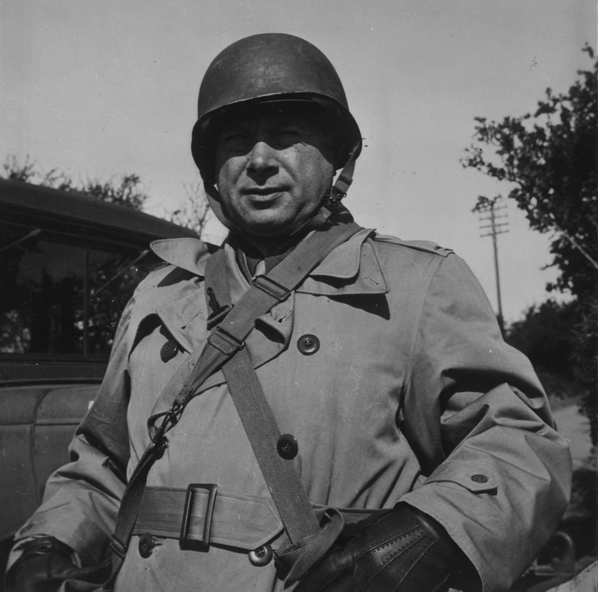 Sarnoff in uniform in the Army