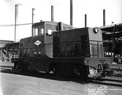 65 ton diesel electric locomotive, Worth Steel Co., Claymont, Del., October 28, 1940