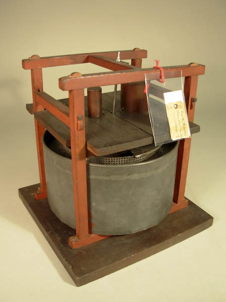 A machine for precise mixing of nitroglycerin by Mowbray