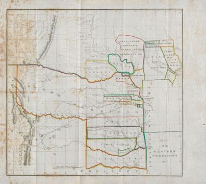 Map of Santa Fe Trail