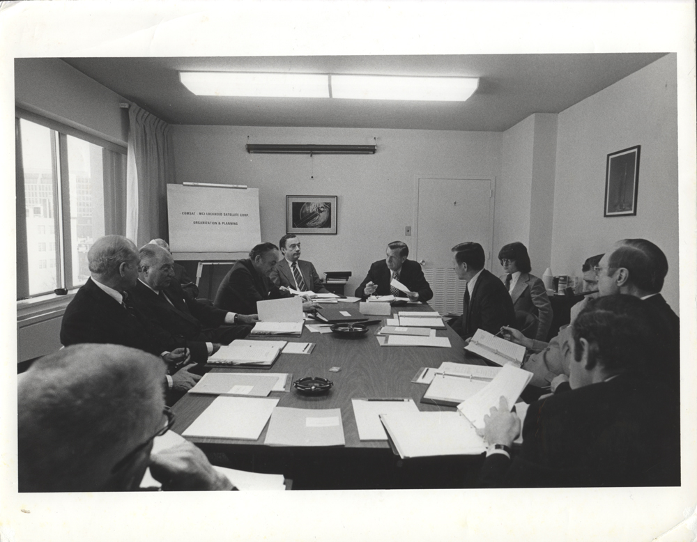 COMSAT business meeting, 1972