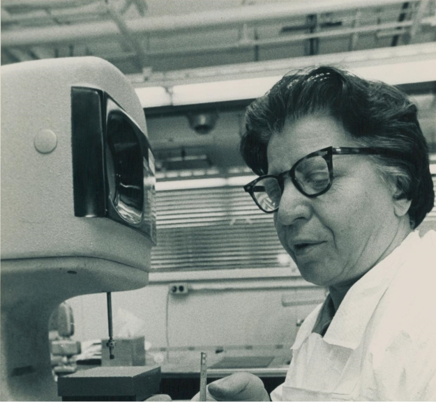 Pauline D'Andrea at work