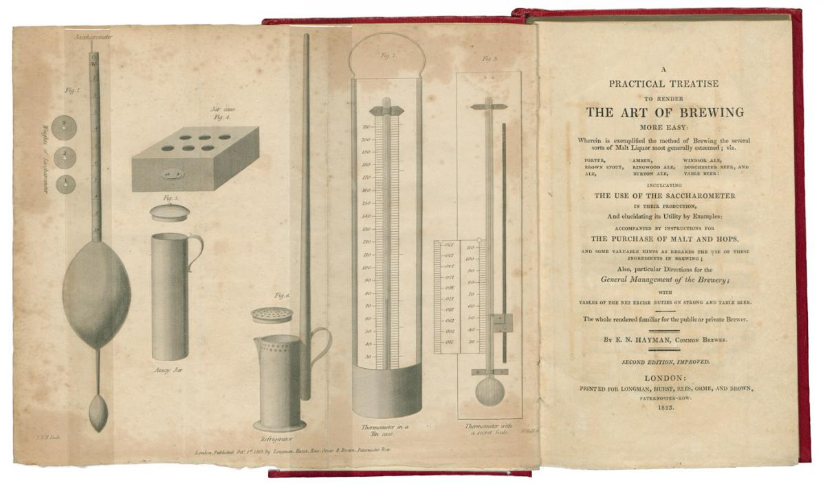 Illustrations of early brewing instruments