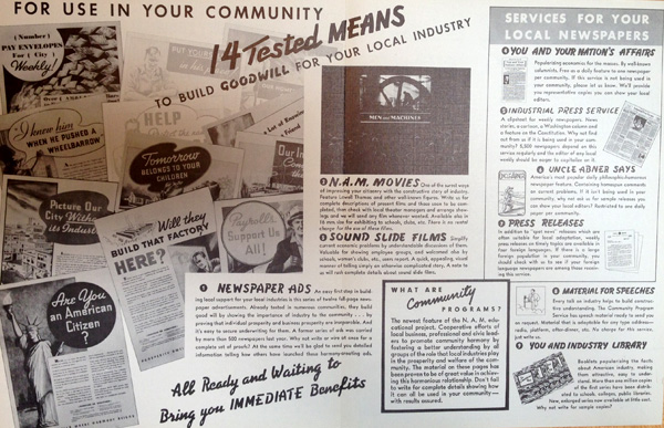 The National Association of Manufacturers and Visual Propaganda