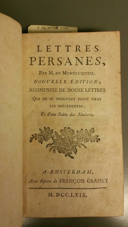 The actual book as identified above, just one example that is known to have been brought to America by the du Pont family in 1799.