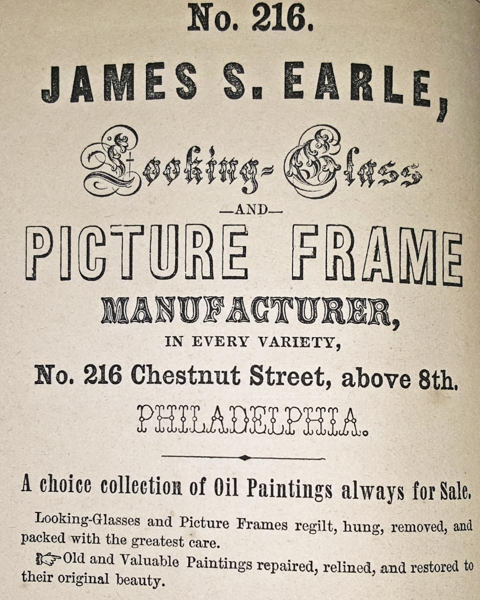 Earles advert