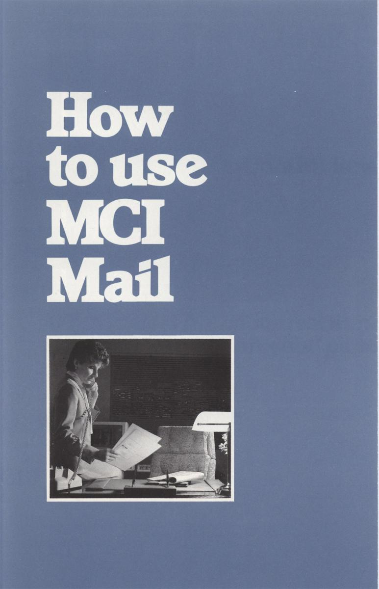 MCI Mail pamphlet