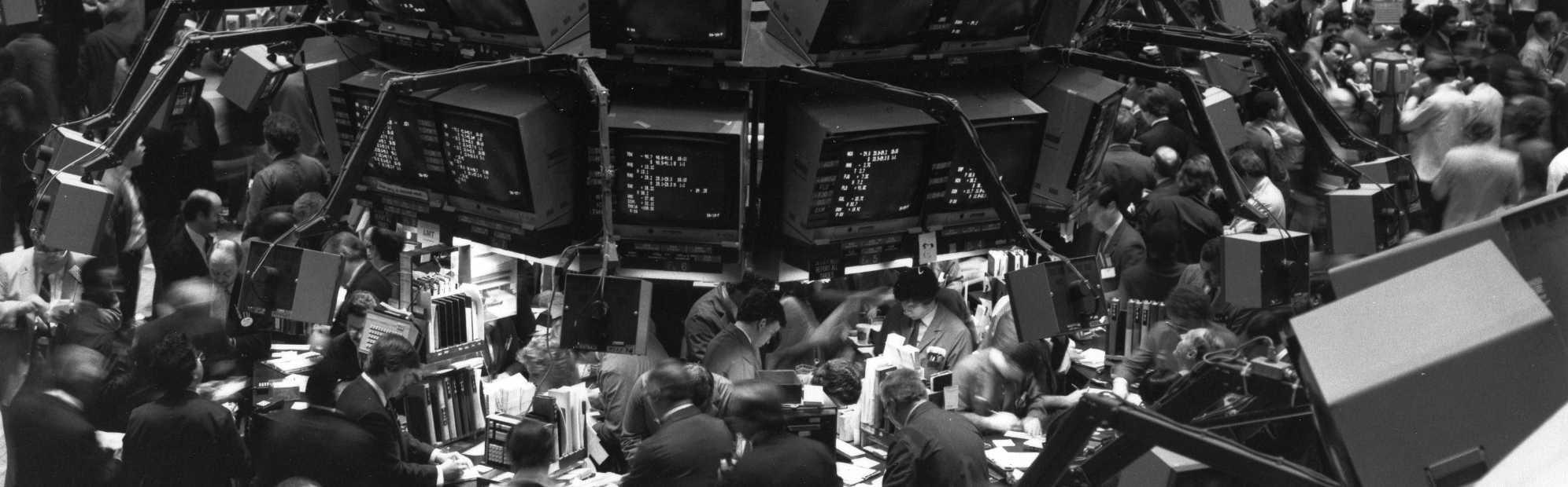 The floor of the New York Stock Exchange