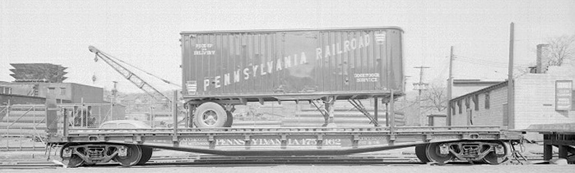 Pennsylvania Railroad car