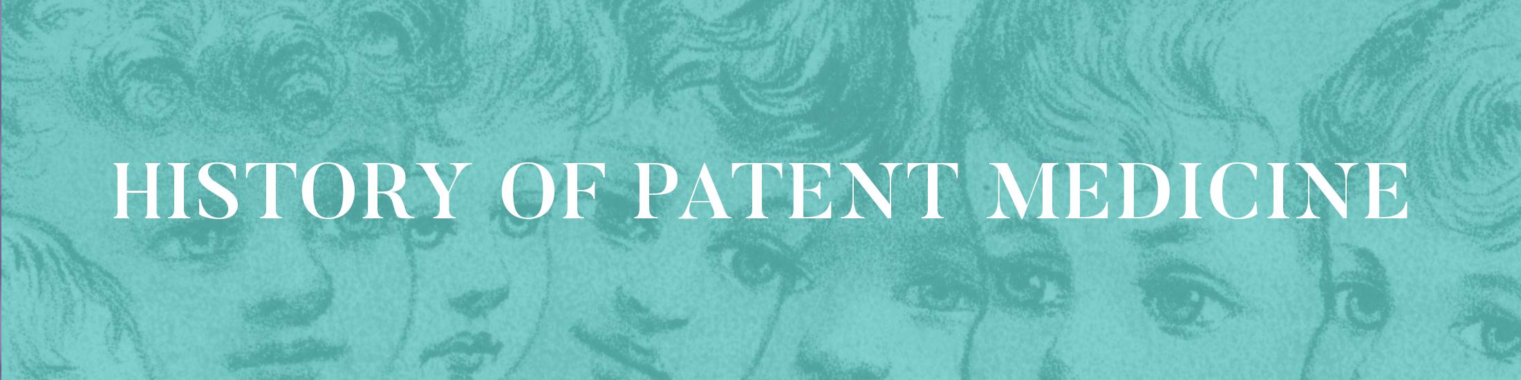 Patent Medicine digital exhibit