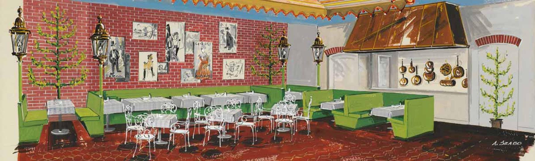 Place_Lautrec_Restaurant_New_York_Hilton_Hotel_New_York