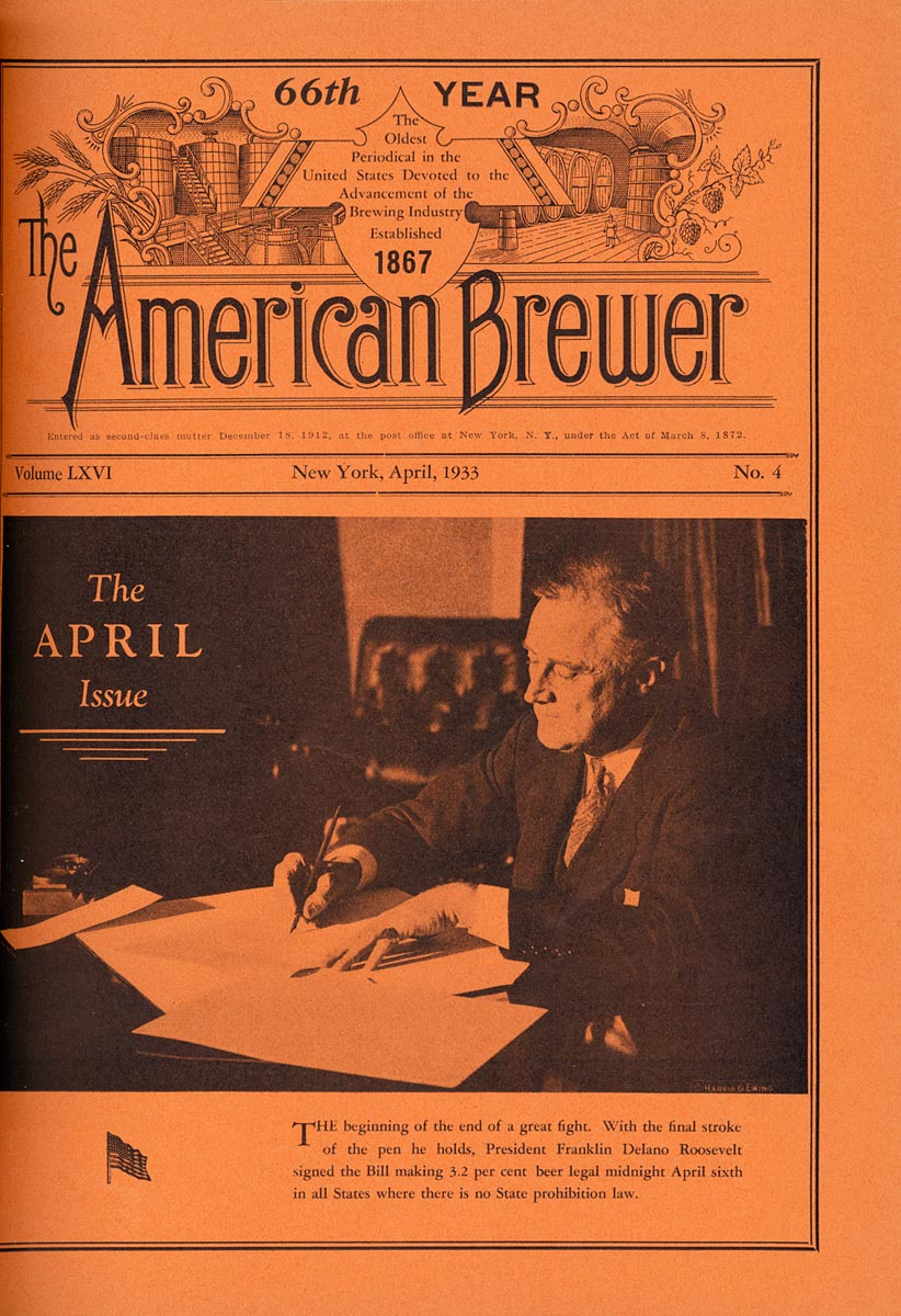 Cover of American Brewer