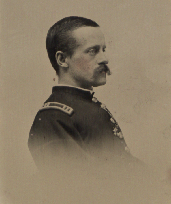 Henry Brewerton in uniform