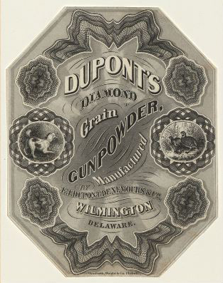DuPont powder label