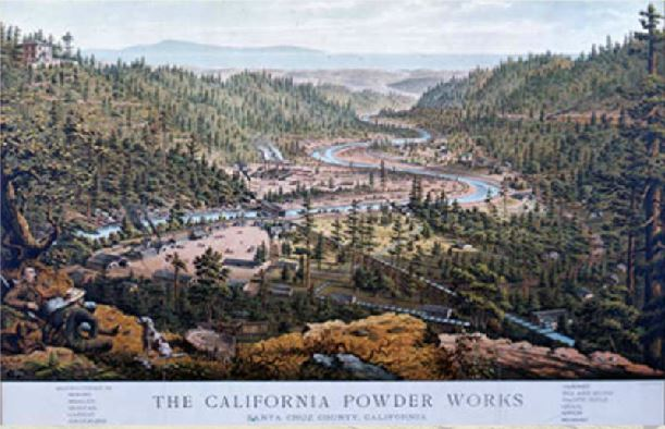 The California powder works, illustrated