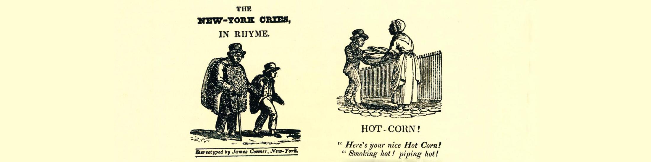 Cartoons of peddlers and sales people