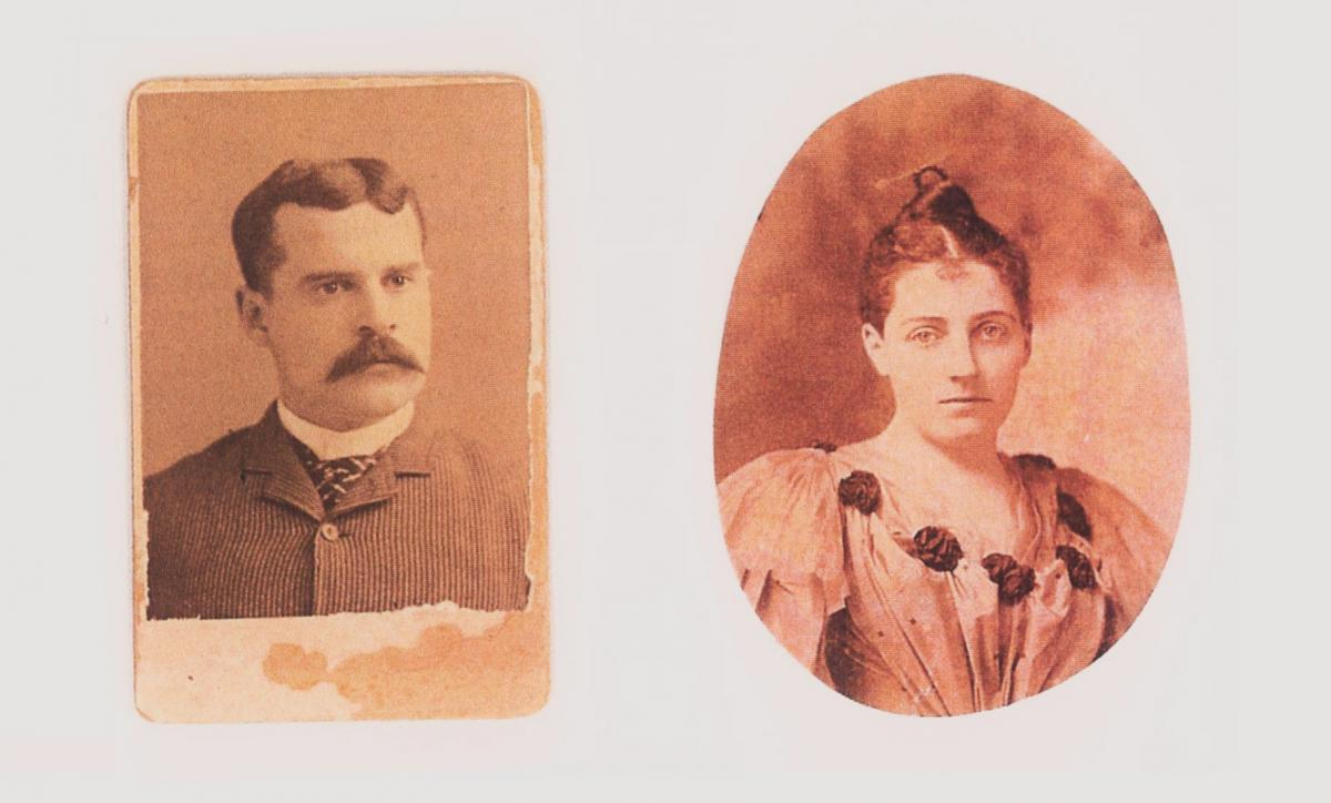 Portraits of Simon and Frances
