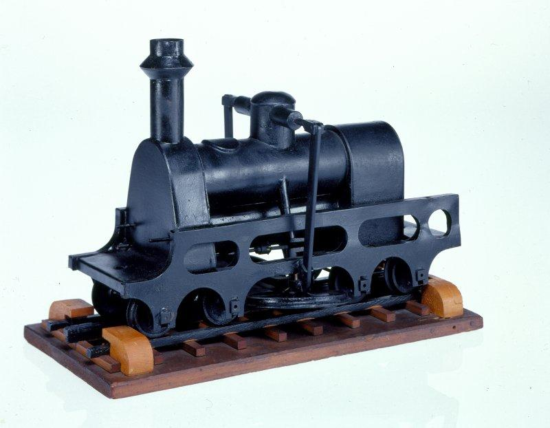 Locomotive patent model