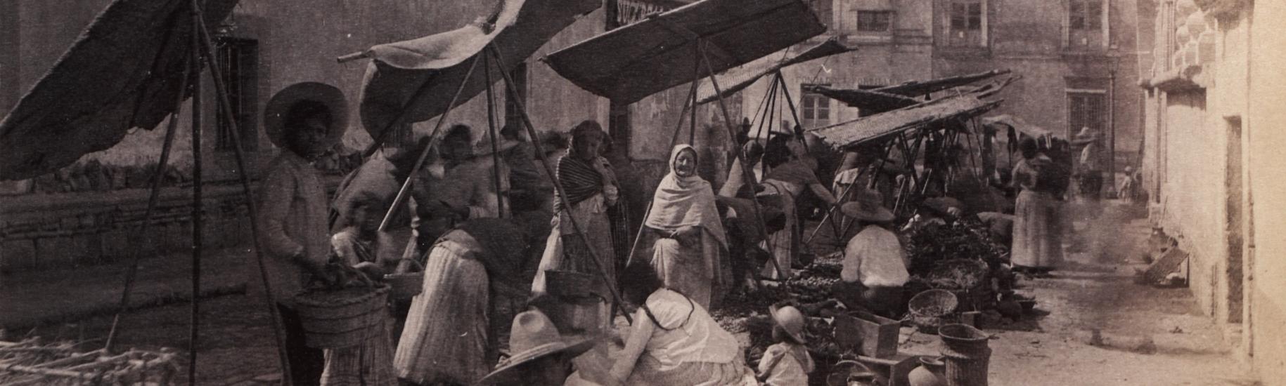 Mexico City street market