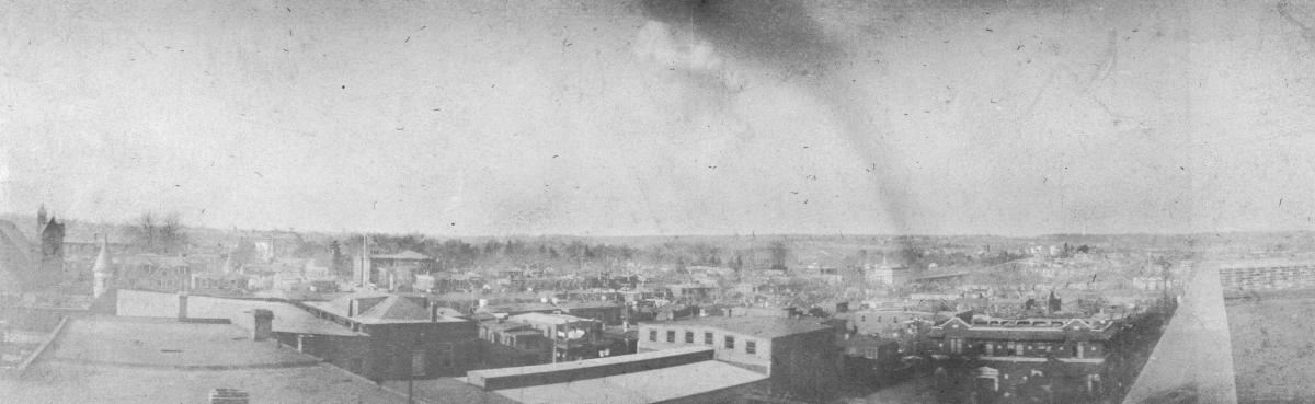 1915 explosion seen from Wilmington