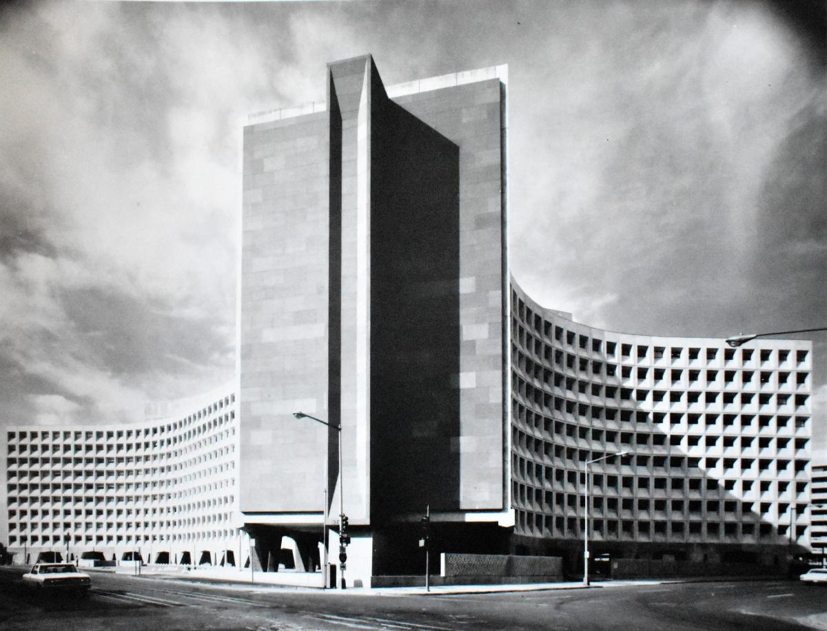 The Department of Housing and Urban Development headquarters in 1968.