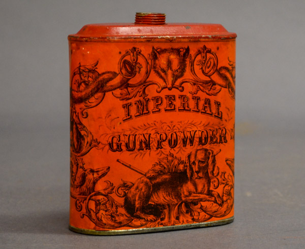 Gunpowder can for Imperial Gunpowder by Eureka Powder Works