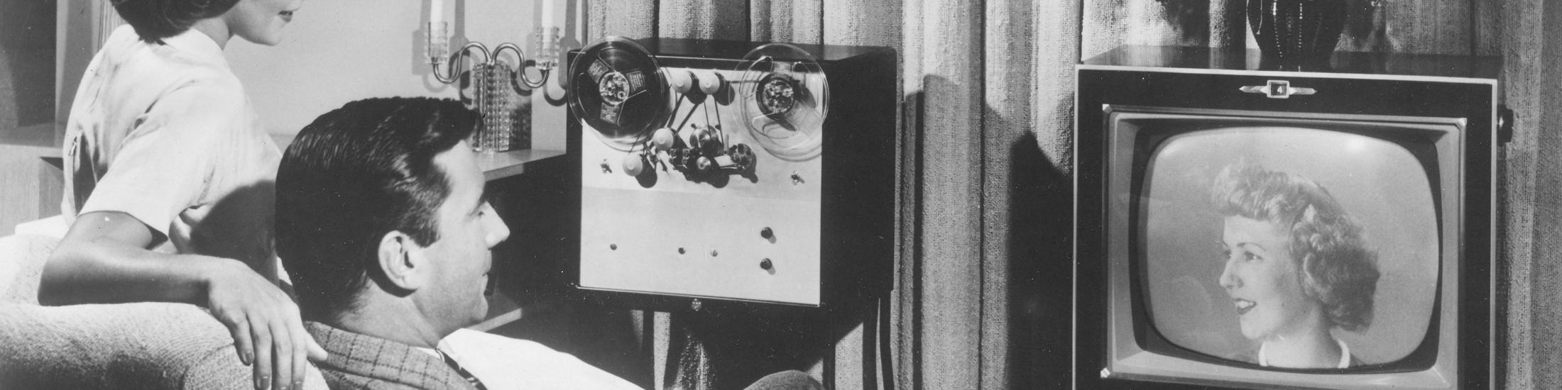 RCA home recording device, 1950-1969