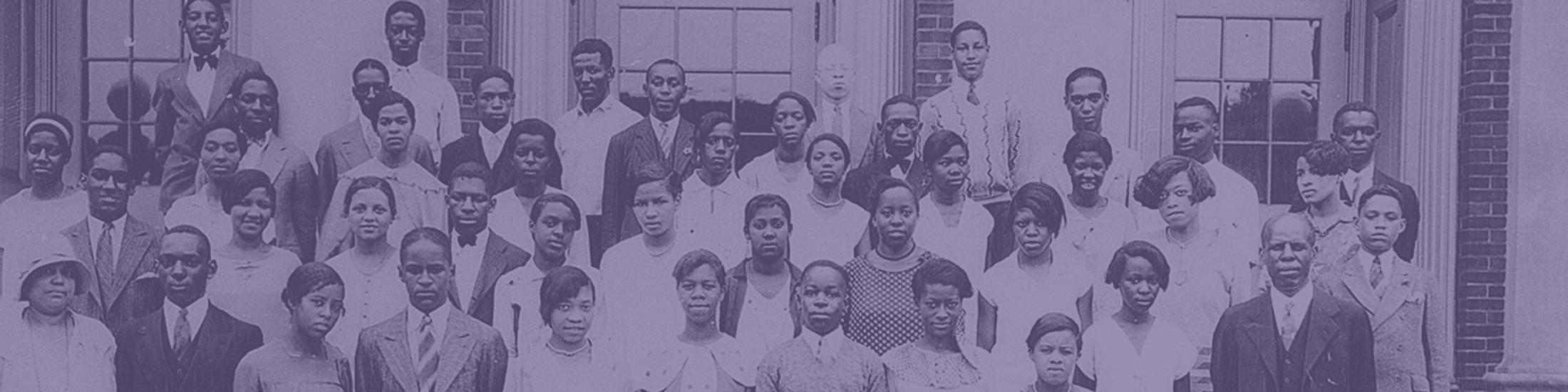 Howard High School school portrait, 1929