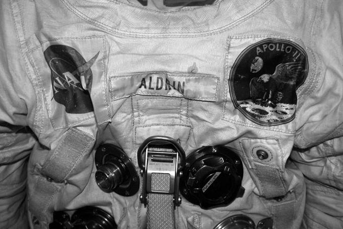 buzz aldrin space suit