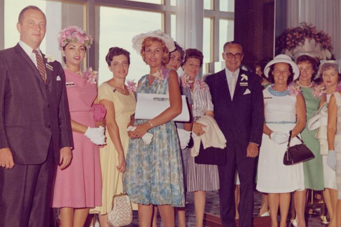 Archival image of Avon National Sales Champions Banquet, Miami, Florida​, 1963