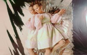 DuPont Quana nylon fashion shot, 1970